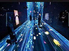 AR互动花海、繁花瀑布互动投影租赁