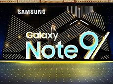 SAMSUNG GALAXY NOTE9 案例设计