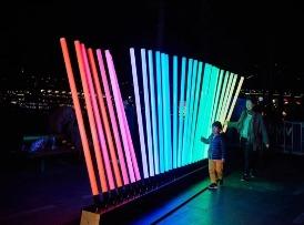 互动灯光装置艺术