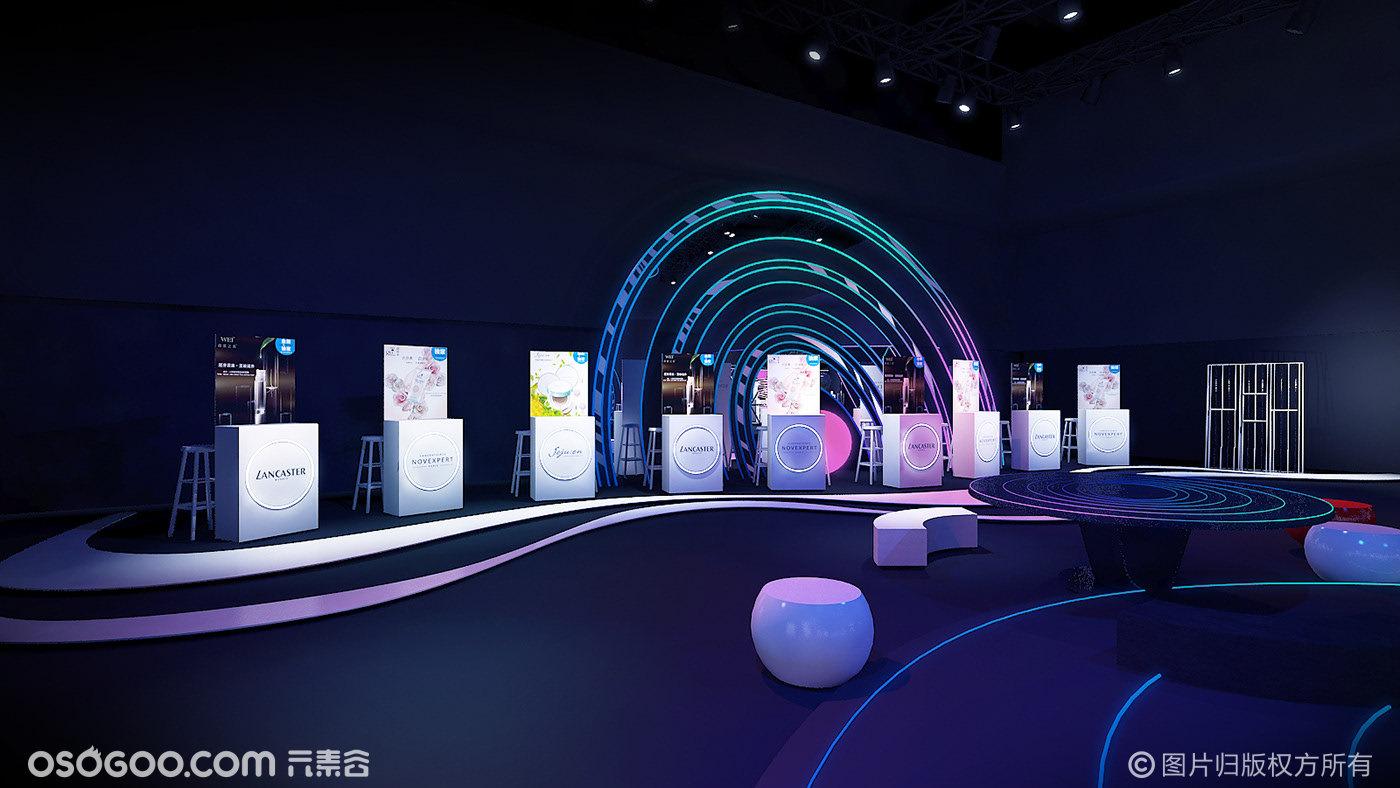 2019 SEPHORA 上海媒体日设计概念