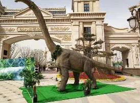 上海盈戈恐龙展