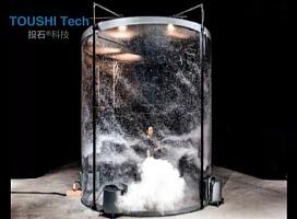"""投石科技""""龙卷风""""模拟装置"""