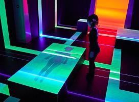 磷光景观互动艺术装置
