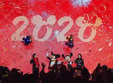 """2020静安嘉里中心跨年派对迪士尼""""鼠""""于你"""