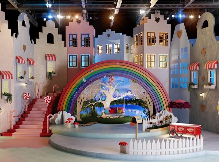 少儿节目演播厅场景设计