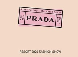 PRADA RESORT2020时尚秀