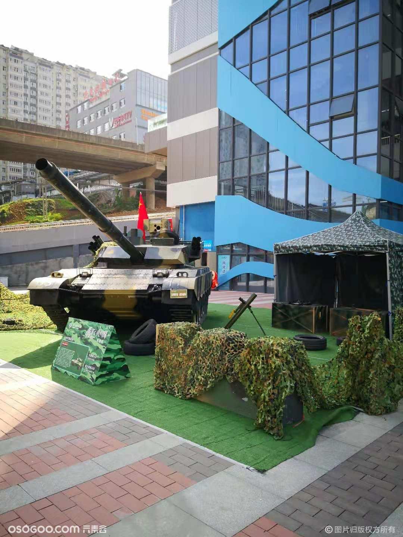 建国70周年军事展仿真军事模型