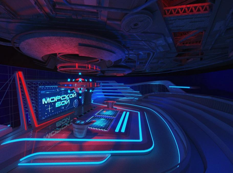 电视节目舞台VR视觉设计