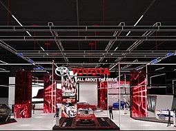 丰田吉隆坡国际车展|展位设计
