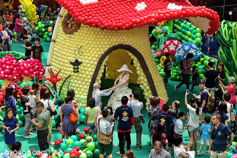 童话气球展---a fairytale garden balloon exhibiton