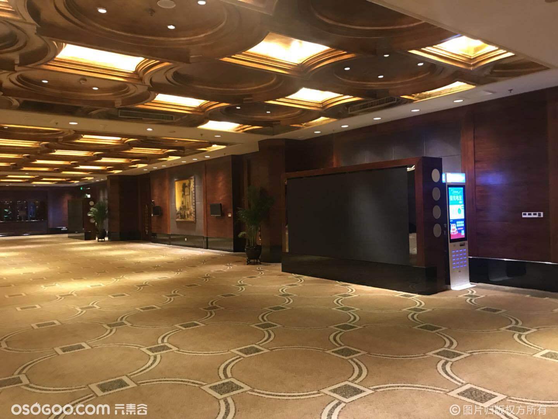 大中华酒店六楼场地图