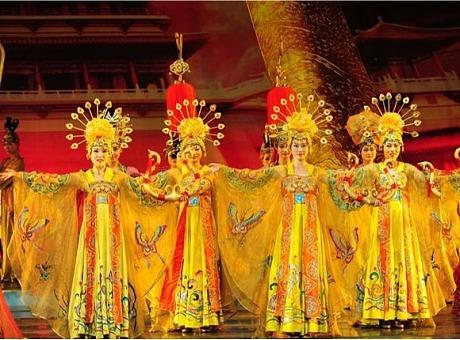 《霓裳羽衣》:中国古典舞汉唐舞蹈节目表演,欢迎咨询预订
