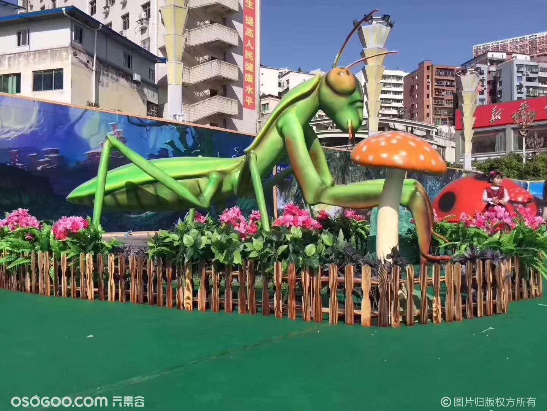 仿真昆虫模型 1--4米动态昆虫模型租赁 仿真昆虫主题展