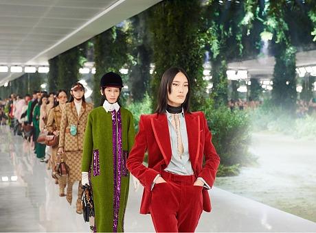 GUCCI上海大秀《Aria-时尚咏叹调》