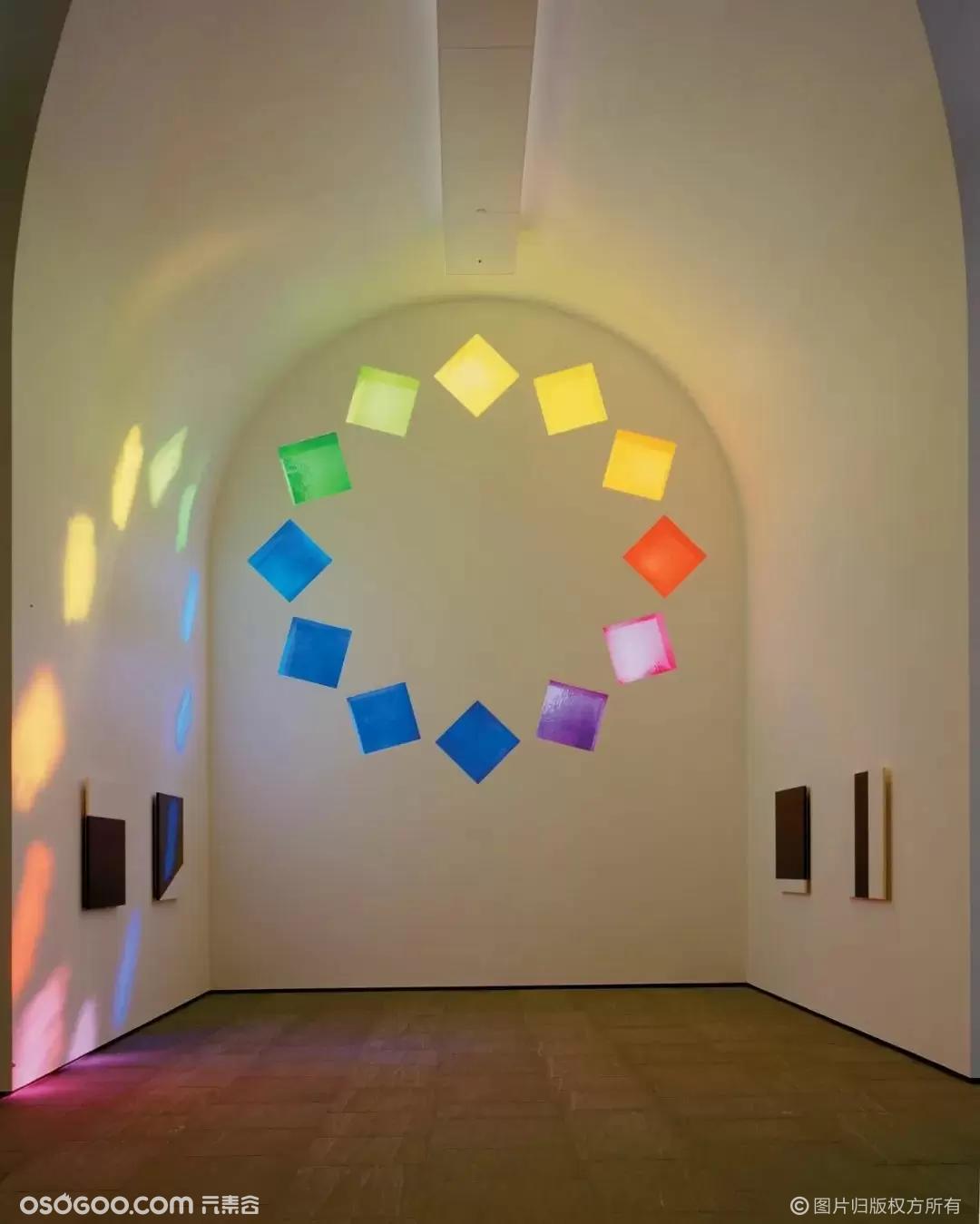 色彩本身是生命,  也赋予生命,带来幸福的彩虹教堂