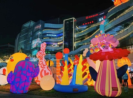 INSTALLATION|花重悦城 多重奇幻主题空间