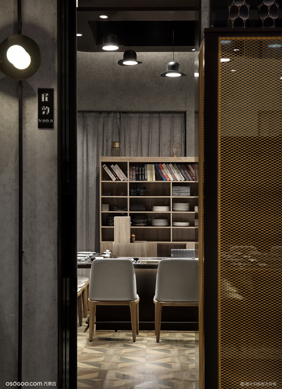 法式铁板烧餐厅设计,雅玛花式铁板烧
