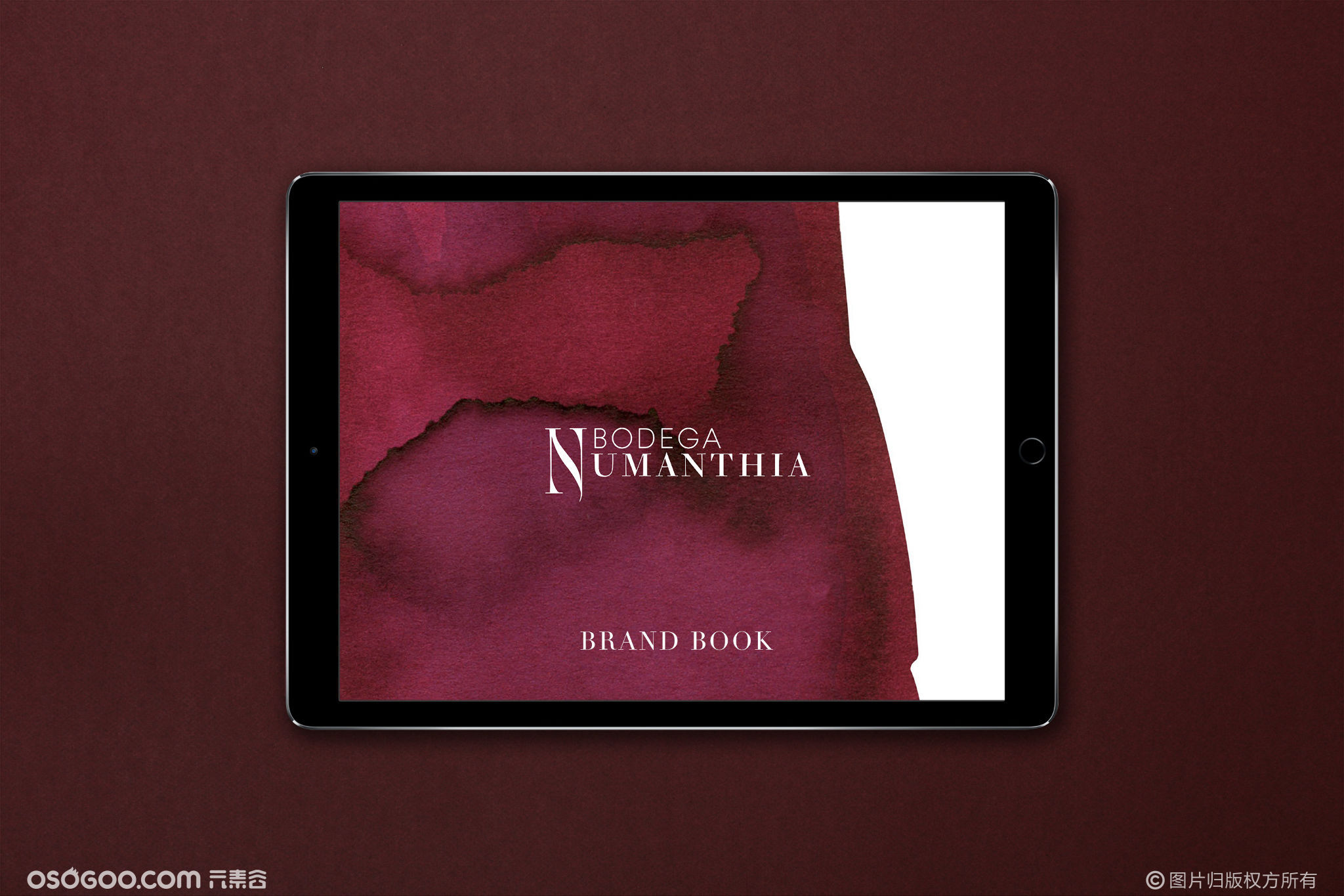 努曼西亚酒庄平面设计