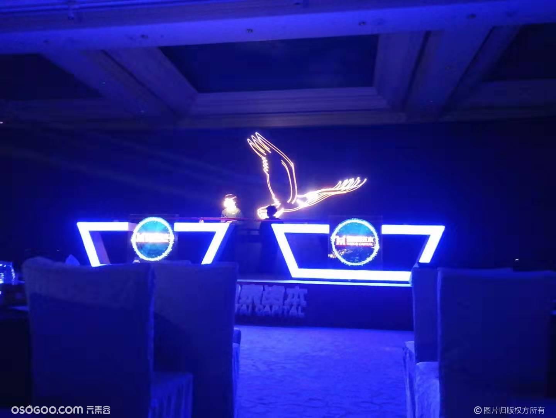 郑州市会议庆典 卷轴启动 激光秀开场启动道具出租