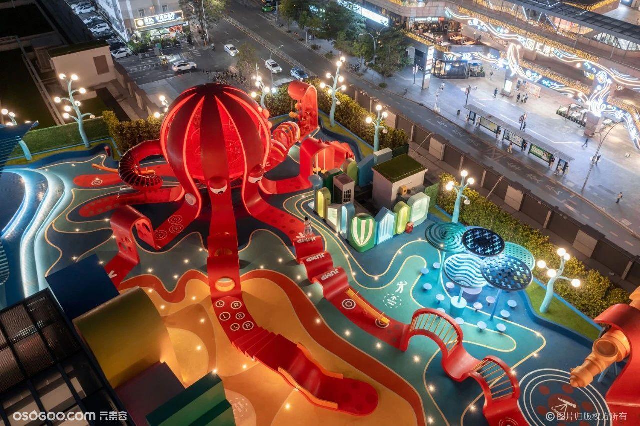 深圳儿童互动空中乐园「章鱼王国」