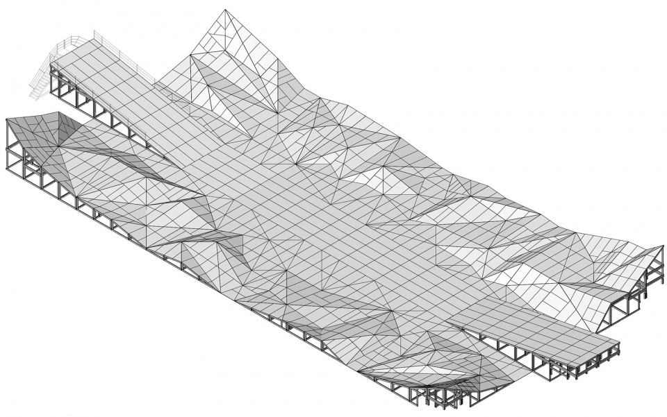 多边形投影舞台设计