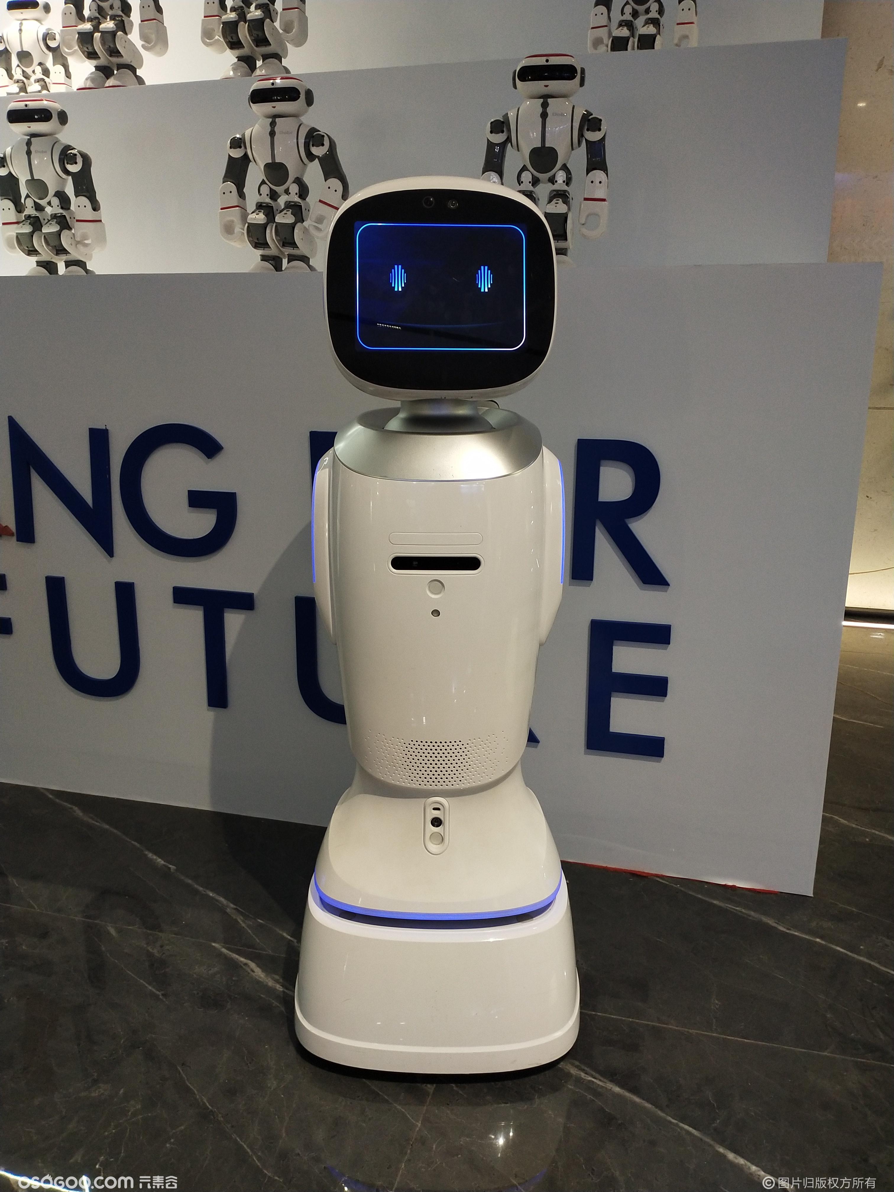 网红机器人互动 江西省图书馆吵架同款机器人