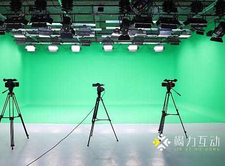 120方数字跟踪绿幕影棚演播厅电商带货智能录课场地租赁