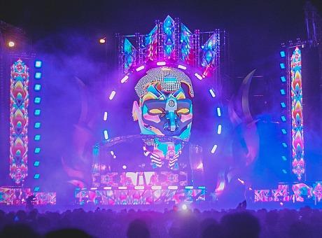 曼谷满月派对舞美|2019音乐节