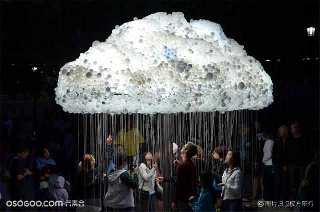 商场美陈云朵灯、云朵灯出租租赁