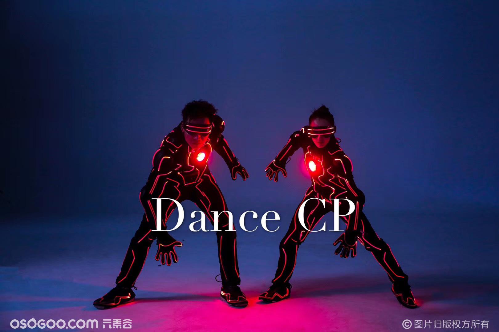 钢铁侠机器舞 无人机共舞 晚会灯光秀