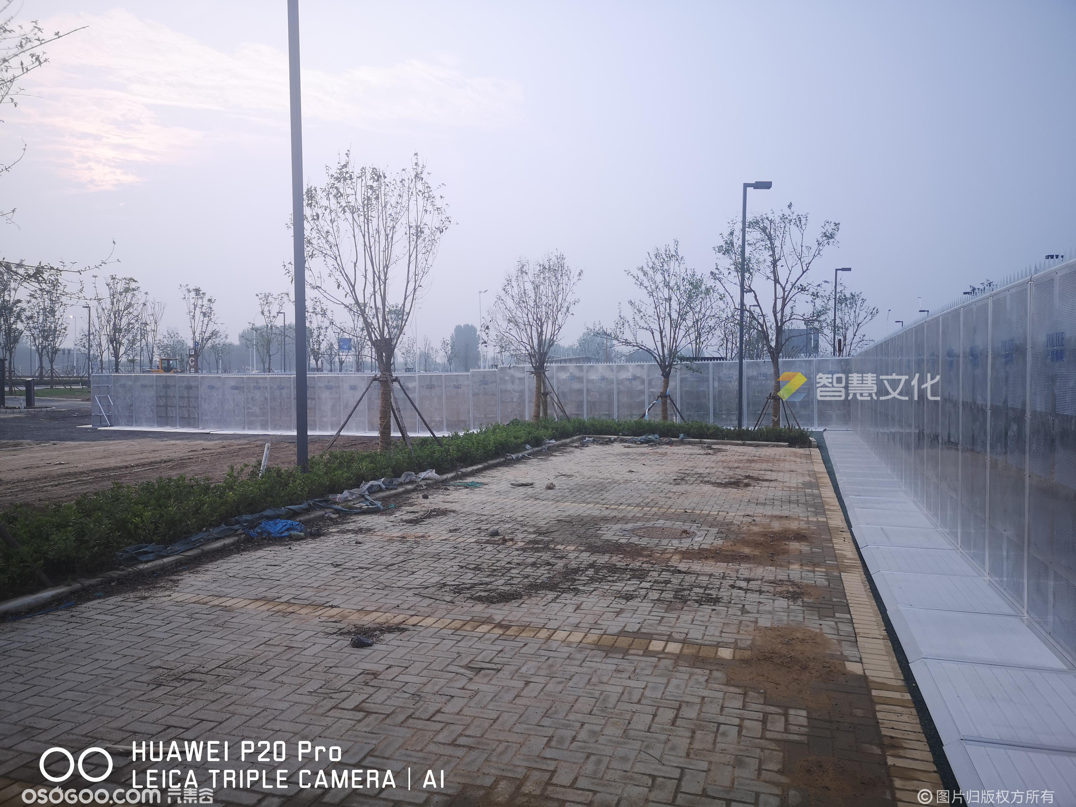 大型演唱会音乐节安防设备防暴栏防暴墙