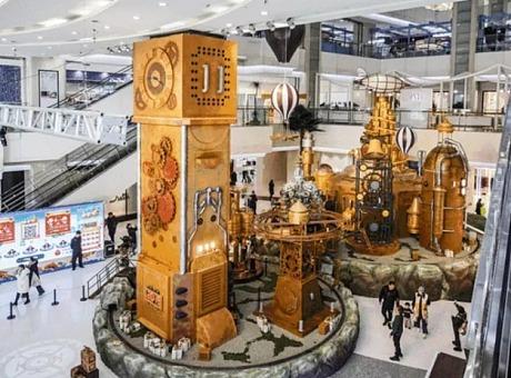 时光礼物工场 | 蒸汽朋克动力装置展