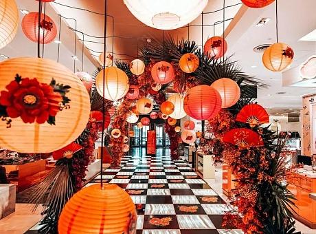商场地产 节庆节日主题美陈 端午 圣诞 情人节 西安汉光