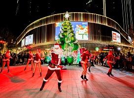 """九亭金地广场圣诞狂欢""""怪可爱奇遇乐园"""""""