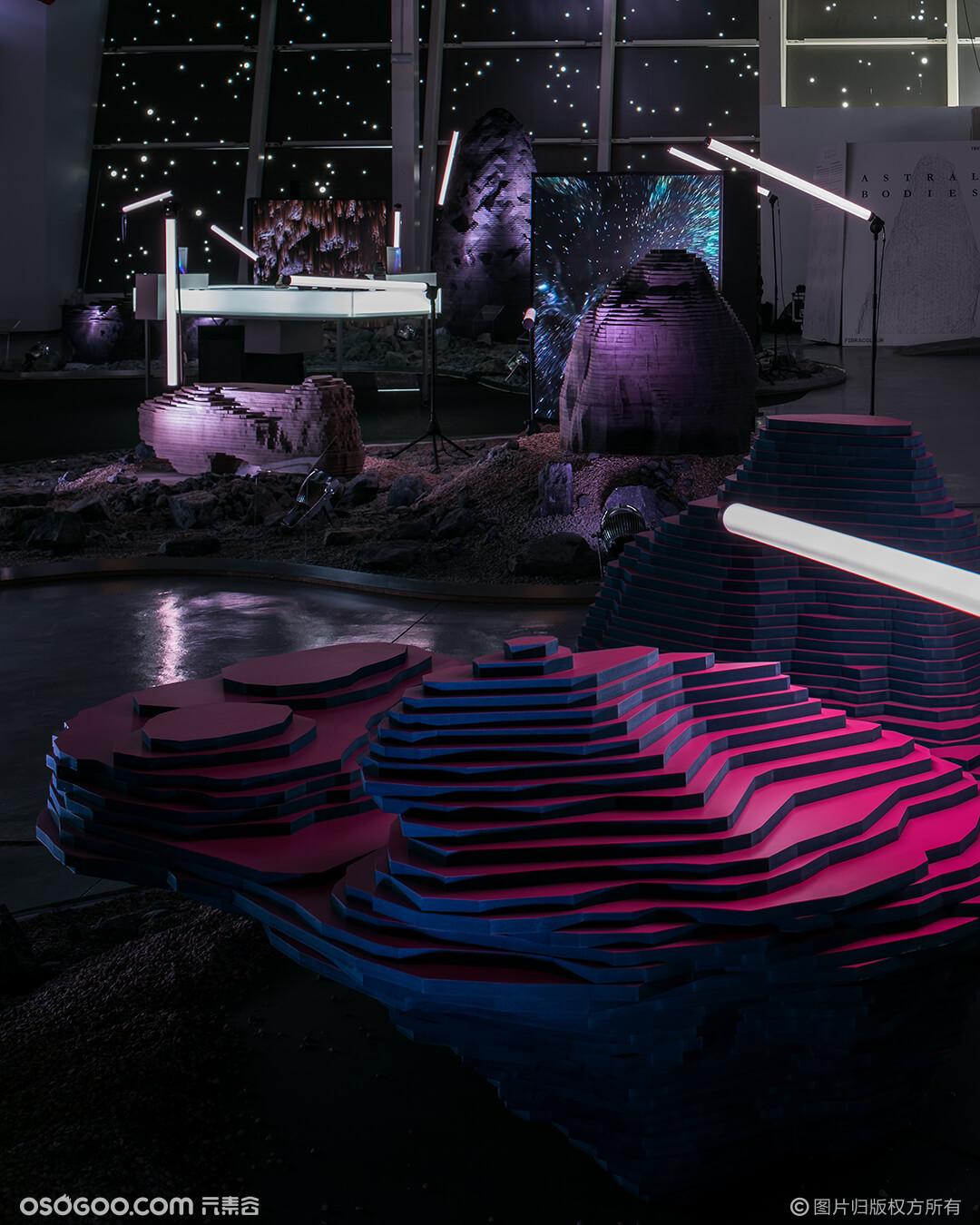 西班牙设计师如何使用抽象概念突出实用材料