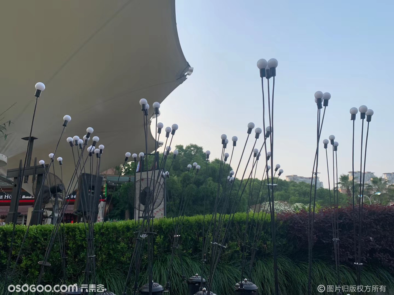 萤火虫灯光厂家租售包安装 LED户外草坪景观灯仿真萤火虫灯