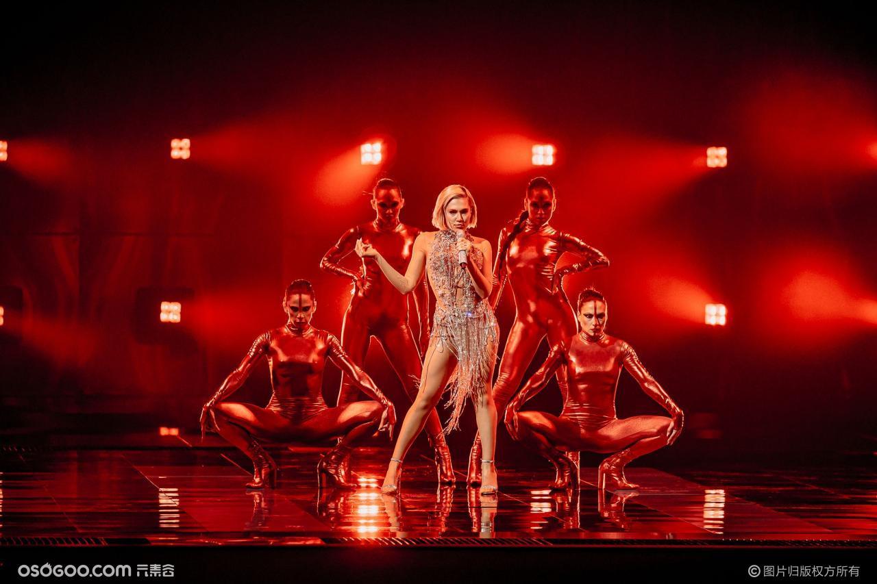 eurovision 2021 现场留影
