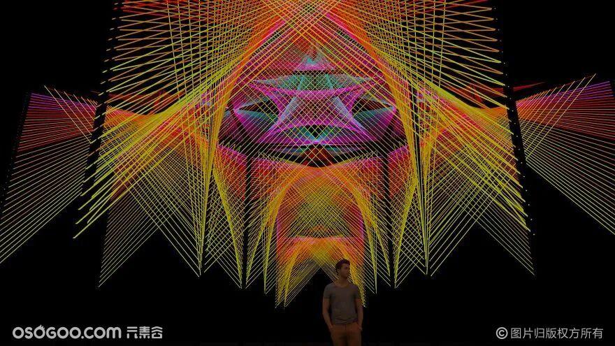 沉浸式装置 | 线绳艺术
