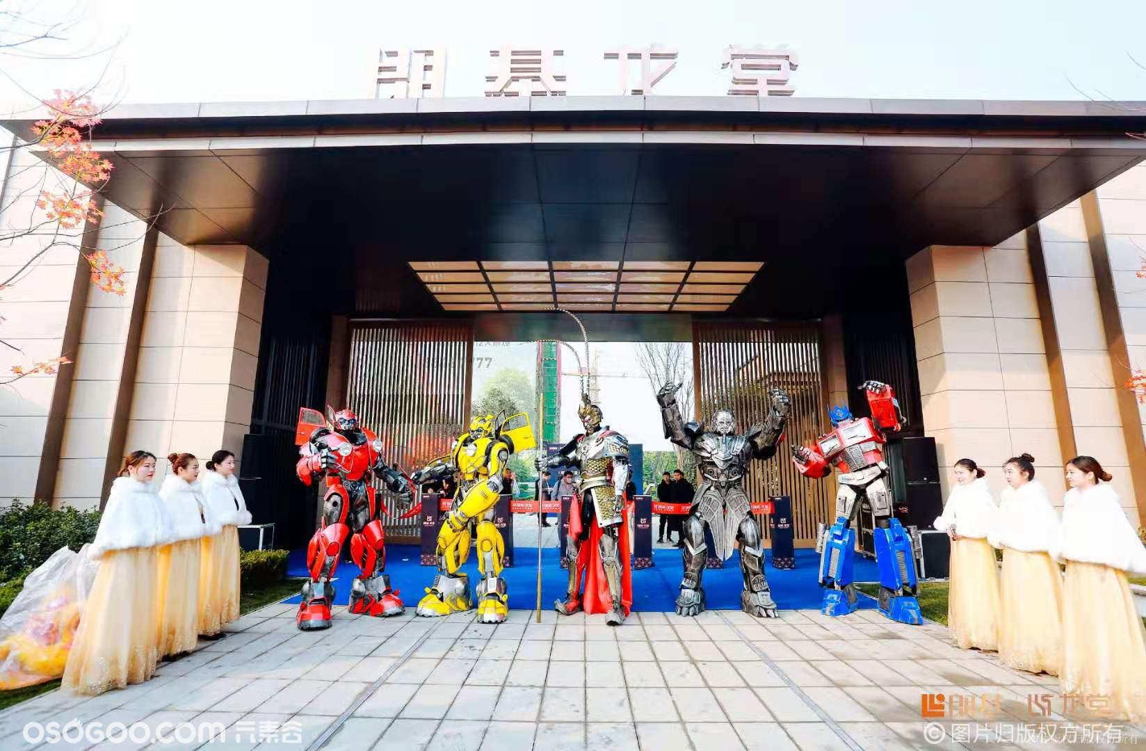 机器人模型、变形金刚服装、语音机器人等道具租赁