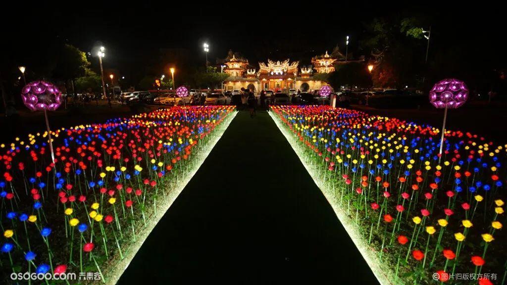 2021台湾高雄冈山灯艺节·竹光织影