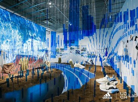 阿迪达斯·UCCALab环境可持续主题艺术展