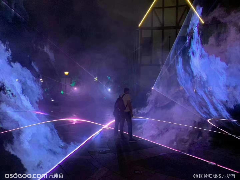 光影互动展激光秀呼吸互动泡泡球各种发光类设备租赁出售