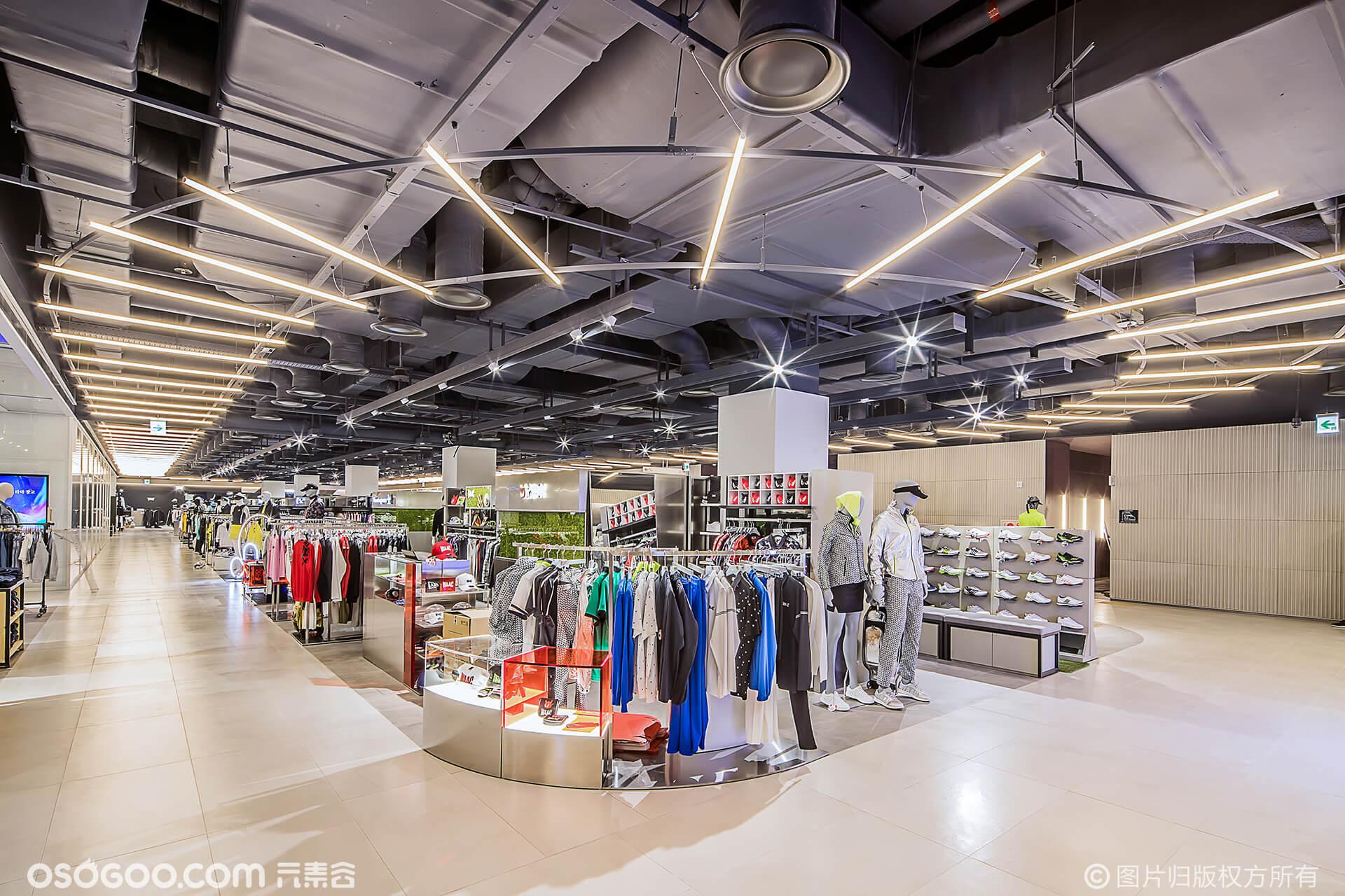 逛街购物并欣赏美景?OMA在韩国开设的新百货商店不符合传统零