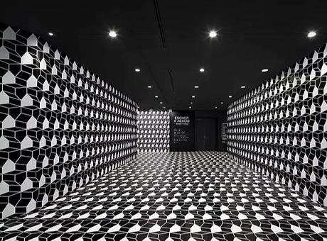 二维与三维的错视之旅 互动装置