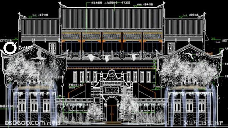【案例】湖北洪湖龙街3Dmapping 打造鄂西不夜城