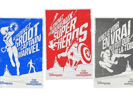 漫威海报设计 迪士尼宣传广告