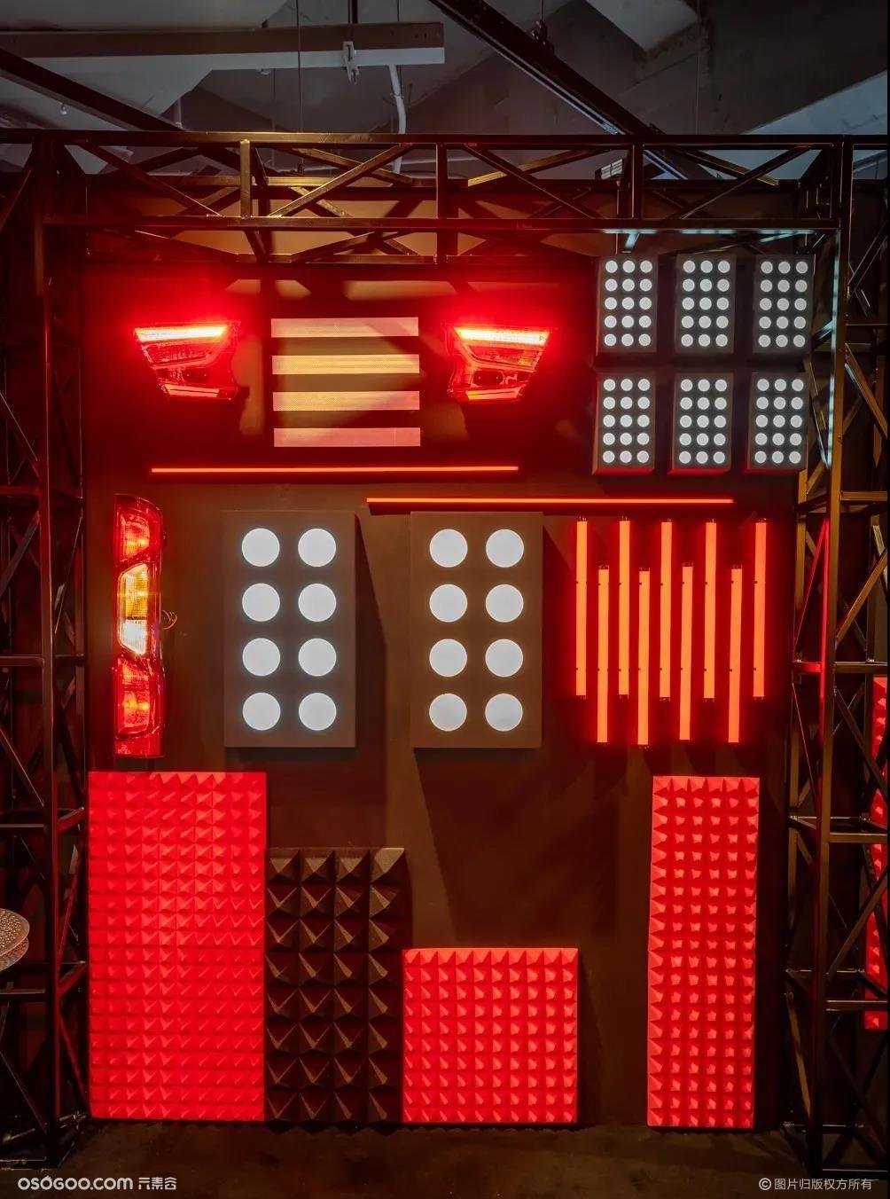 途虎养车Auto Space X  机械光影沉浸式展览