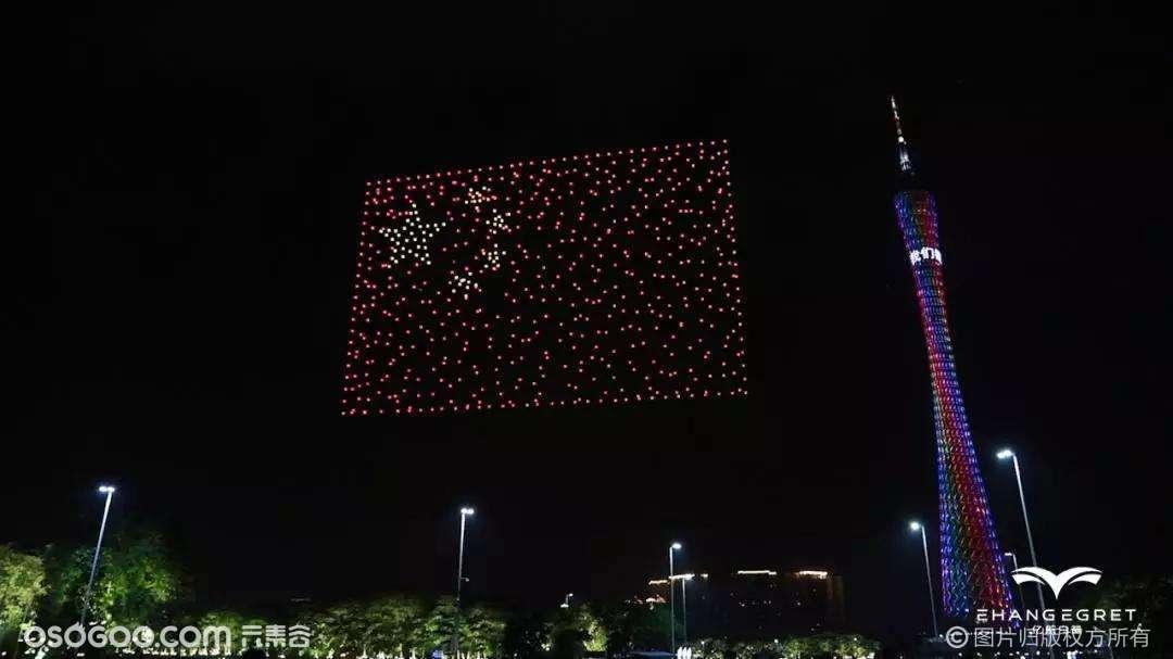 全国大型无人机创意表演 无人机灯光秀 无人机编队演出