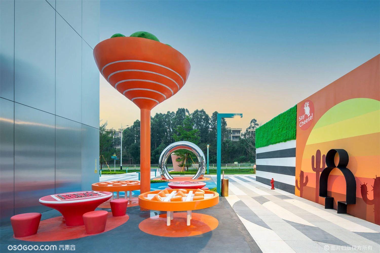 """城市公共空间艺术装置""""城市涟漪"""""""