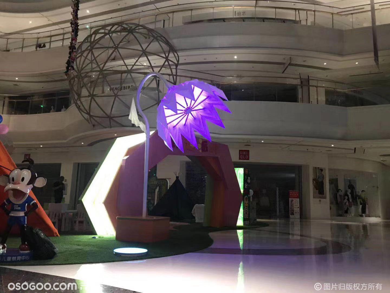 机械太阳花
